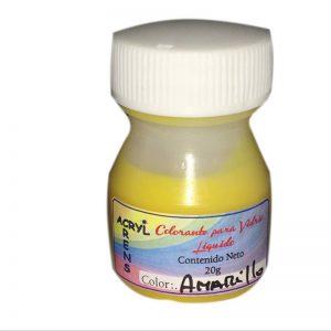 Colorante p/Resina epoxi cristal o vidrio liquido