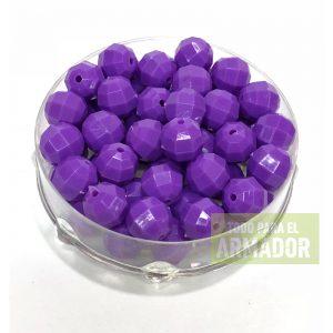 Perlas facetadas de 6 mm y 8 mm