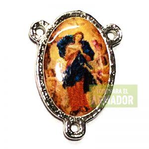 Centros para rosarios resinados Virgen desatanudos