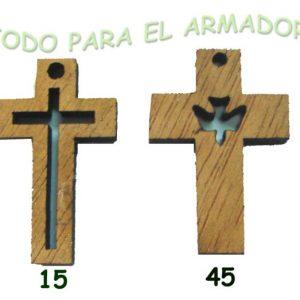 Cruces cruz de madera caladas
