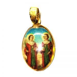 Medalla Arcangel miguel y gabriel