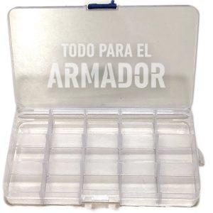 Caja plastica organizadora de 15 divisiones
