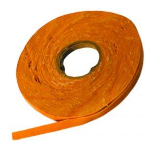 Cinta de gamuza naranja x 10 metros