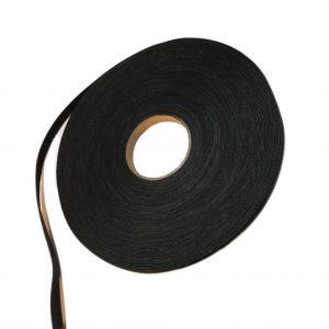 Cinta de gamuza negra x 20 metros