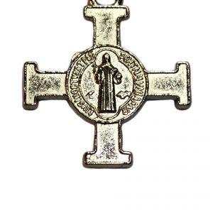 Cruz cruces de San Benito doble faz