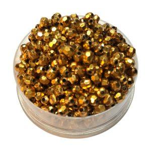Perlas facetadas 4 mm color 10
