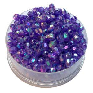 Perlas facetadas 4 mm color 11