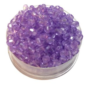 Perlas facetadas 4 mm color 12
