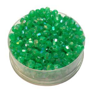 Perlas facetadas 4 mm color 9