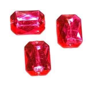 Piedras tipo strass para coser rosas
