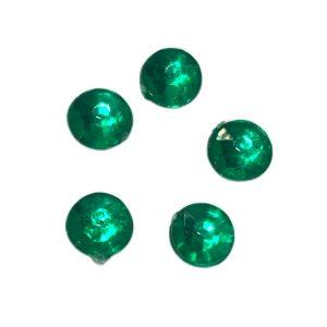 Strass acrilico chato verde
