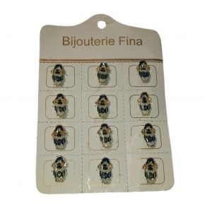 Pins de rosario Gimnasia y esgrima de la plata x 12 unid