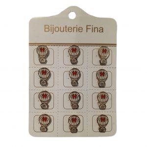 Pins de rosario Huracan x 12 unid