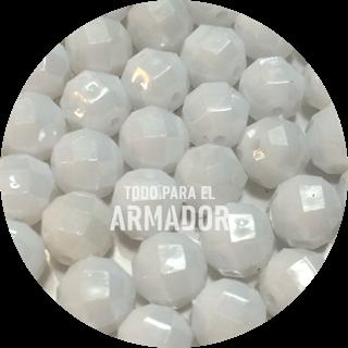 Perlas facetadas color 10