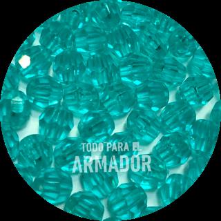 Perlas facetadas color 25