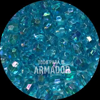 Perlas facetadas color 44