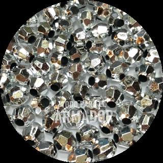 Perlas facetadas metalizadas color 46